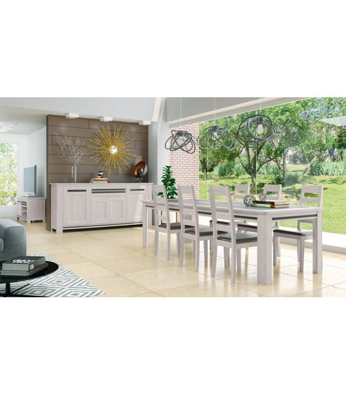 table malaga global meubles. Black Bedroom Furniture Sets. Home Design Ideas