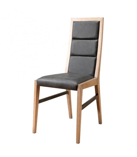 Chaise Style Atelier En Chene Massif Francais