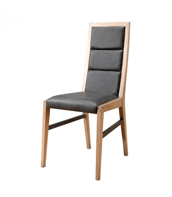 chaise style atelier en ch ne massif fran ais. Black Bedroom Furniture Sets. Home Design Ideas