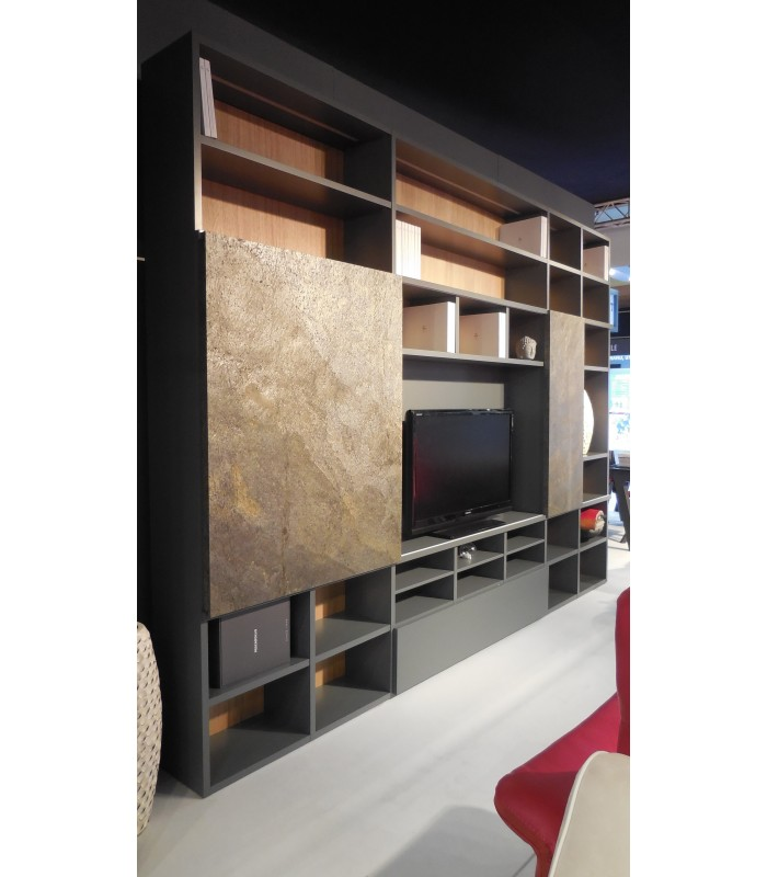 composition biblioth que global meubles. Black Bedroom Furniture Sets. Home Design Ideas