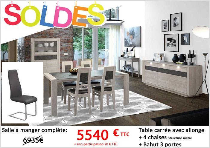salle à manger complete table plus quatre chaises plus bahut