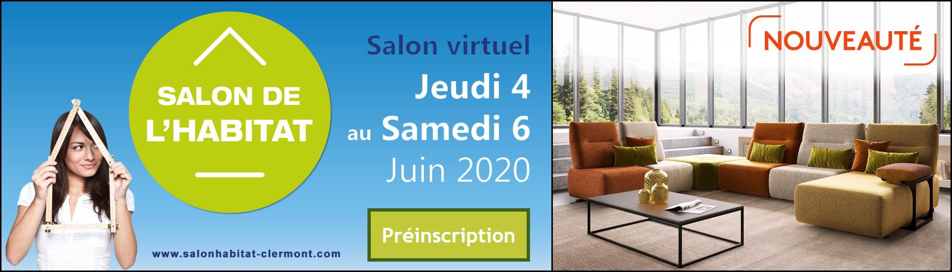GLOBAL est fier de participer au Salon de l'Habitat de Clermont-Ferrand en mode Virtuel du 4 au 6 juin 2020