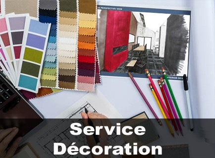 Service décoration